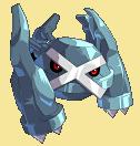 Metagross-Sprite aus Pokémon Conquest