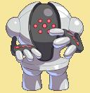 Registeel-Sprite aus Pokémon Conquest