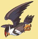 Staraptor-Sprite aus Pokémon Conquest