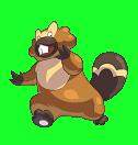Bidifas-Sprite aus Pokémon Conquest