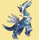 Dialga-Sprite aus Pokémon Conquest