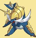 Admurai-Sprite aus Pokémon Conquest