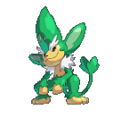 Vegichita-Sprite aus Pokémon Conquest