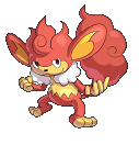 Grillchita-Sprite aus Pokémon Conquest