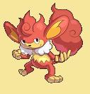 Grillchita-Sprite aus Pokémon Conquest