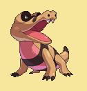 Ganovil-Sprite aus Pokémon Conquest