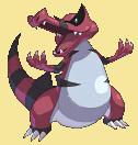 Rabigator-Sprite aus Pokémon Conquest
