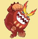 Flampivian-Sprite aus Pokémon Conquest