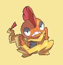 Irokex-Sprite aus Pokémon Conquest