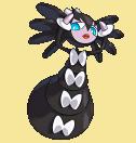 Morbitesse-Sprite aus Pokémon Conquest
