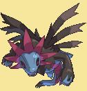 Trikephalo-Sprite aus Pokémon Conquest