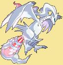 Reshiram-Sprite aus Pokémon Conquest