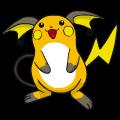 Pokémon Global Link Grafik von Raichu