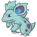 Pokémon Global Link Grafik von Nidorina