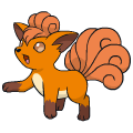 Pokémon Global Link Grafik von Vulpix
