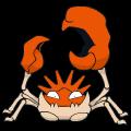 Pokémon Global Link Grafik von Kingler