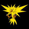 Pokémon Global Link Grafik von Zapdos