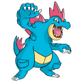 Pokémon Global Link Grafik von Impergator
