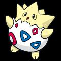Pokémon Global Link Grafik von Togepi
