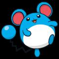 Pokémon Global Link Grafik von Marill