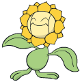 Pokémon Global Link Grafik von Sonnflora