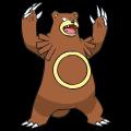 Pokémon Global Link Grafik von Ursaring