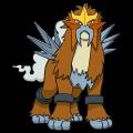 Pokémon Global Link Grafik von Entei