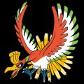 Pokémon Global Link Grafik von Ho-oh