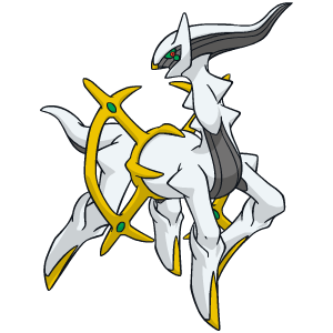 Arceus bilder und sprites - Legendaire shiney ...