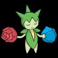 Pokémon Global Link Grafik von Roselia
