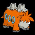 Pokémon Global Link Grafik von Camerupt