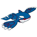 Pokémon Global Link Grafik von Kyogre