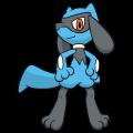 Pokémon Global Link Grafik von Riolu