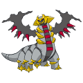 Pokémon Global Link Grafik von Giratina