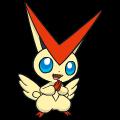 Pokémon Global Link Grafik von Victini