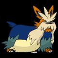 Pokémon Global Link Grafik von Bissbark