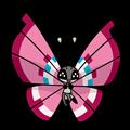 Pokémon Global Link Grafik von Vivillon