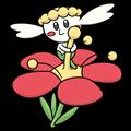 Pokémon Global Link Grafik von Flabébé