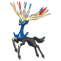 Pokémon Global Link Grafik von Xerneas