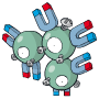 Pokémon Global Link Grafik von Magneton