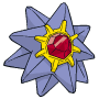 Pokémon Global Link Grafik von Starmie