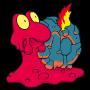 Pokémon Global Link Grafik von Magcargo