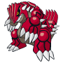 Pokémon Global Link Grafik von Groudon