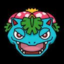 Bild von Bisaflor aus Pokémon Link Battle