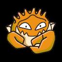 Bild von Kingler aus Pokémon Link Battle