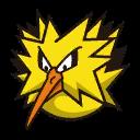 Bild von Zapdos aus Pokémon Link Battle