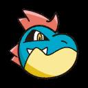 Bild von Tyracroc aus Pokémon Link Battle
