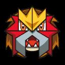Bild von Entei aus Pokémon Link Battle