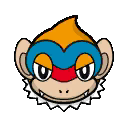 Bild von Panpyro aus Pokémon Link Battle