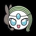 Bild von Meloetta aus Pokémon Link Battle